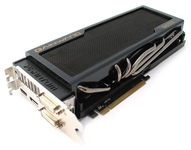 A GeForce GTX 570 Phantom